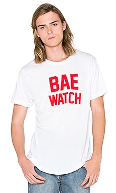 Private Party Bae Watch Tee in White
