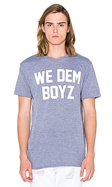 Private Party We Dem Boyz Tee in Grey