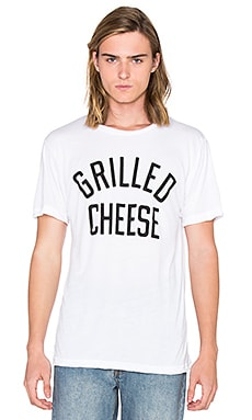 Private Party Grilled Cheese Tee in White