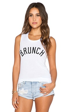 Private Party Brunch Tank in White