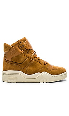 Pony M 110 Nubuck in Dark Camel