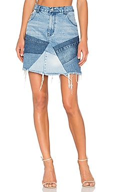 Patch Mini Skirt