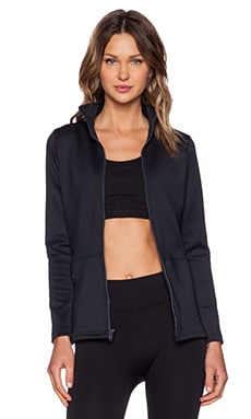 Prism Sport Peplum Jacket in Black