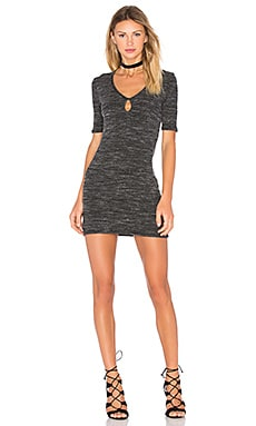 Project Social T Ava Keyhole Mini Dress in Marble