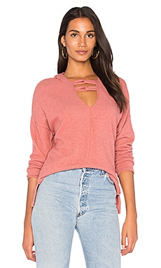 Carre Knot Neck Hoodie
