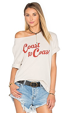 Coast to Coast Tee in Bone