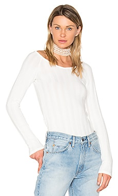 Retrograde Off Shoulder Top in Cream