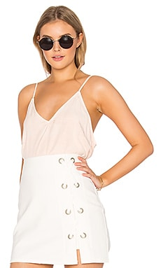 Lilies Tank in Mineral Wash Cameo