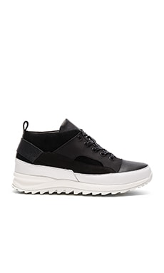 Public School Hiker Sneaker Mid in Black