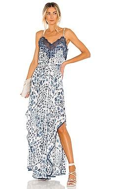 Elora Maxi Dress Poupette St Barth $410