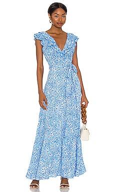 Della Maxi Dress Poupette St Barth $390 NEW