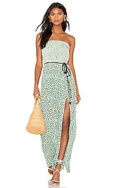 Mara Strapless Dress Poupette St Barth $315