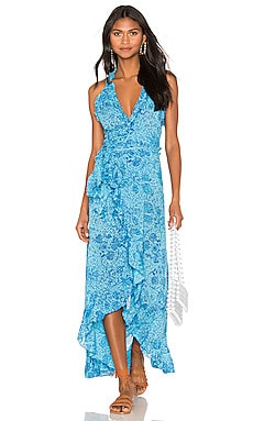 c5e5800b2ae Tamara Wrap Dress Poupette St Barth $370 ...