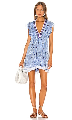 31d9f6872c Sasha Lace Trimmed Mini Dress Poupette St Barth $320 ...