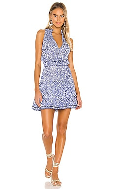 Inka Ruffled Mini Dress Poupette St Barth $280 BEST SELLER