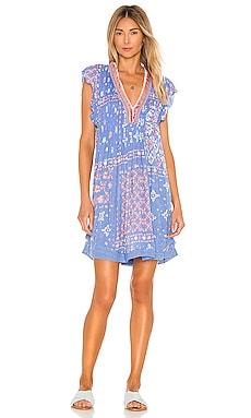 Sasha Lace Mini Dress Poupette St Barth $271