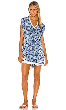 Mila Mini Dress Poupette St Barth $330 NEW