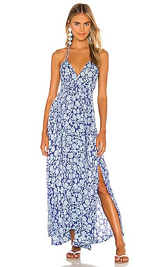 Ollie Maxi Dress Poupette St Barth $320 NEW