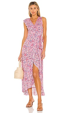 Gwen Maxi Dress Poupette St Barth $320 BEST SELLER