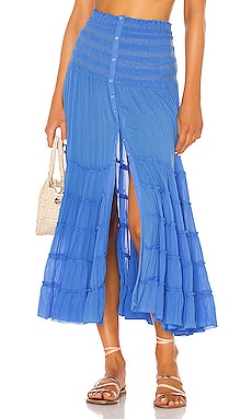 a44639a56 Foe Panelled Maxi Skirt Poupette St Barth $380 ...