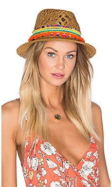 Poupette St Barth Chacha Hat in Dark