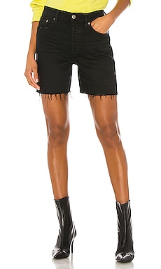 Devin High Rise Mom Cut Off Short PISTOLA $88 NEW ARRIVAL
