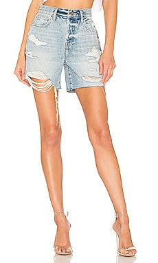 Devin High Rise Mom Cut Off PISTOLA $62