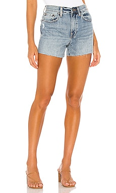 Nova High Rise Relaxed Cut Off Short PISTOLA $59