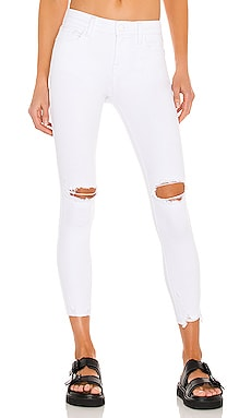Audrey Crop Mid Rise Skinny PISTOLA $108