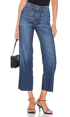 Cher High Rise Wide Leg Cropped PISTOLA $83