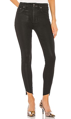 Aline Coated High Rise Skinny PISTOLA $108