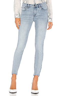 Audrey Mid Rise Skinny PISTOLA $98