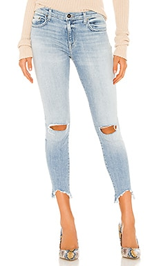 Audrey Mid Rise Skinny PISTOLA $108