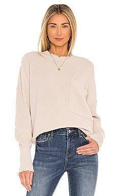 Darya Oversized Crewneck Pullover PISTOLA $128