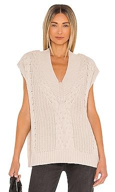 Kiran V-Neck Pullover Vest PISTOLA $118 BEST SELLER