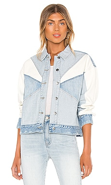BLOUSON EN JEAN WILLOW PISTOLA $178 BEST SELLER