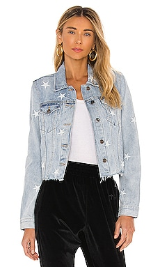 Brando White Star Denim Jacket PISTOLA $128