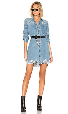 Sheila Denim Trench PISTOLA $108