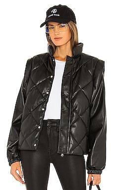 Callista Long Sleeve Puffer Jacket & Vest PISTOLA $228 ベストセラー
