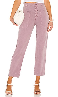 Tammy High Rise Trouser PISTOLA $108 BEST SELLER