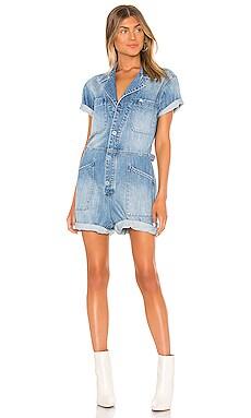 X REVOLVE Parker Field Suit Short PISTOLA $138