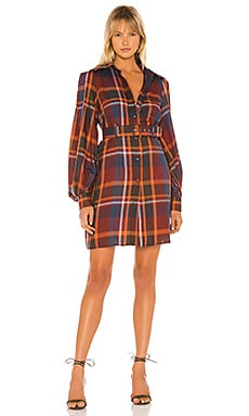 Adele Shirt Dress Petersyn $84