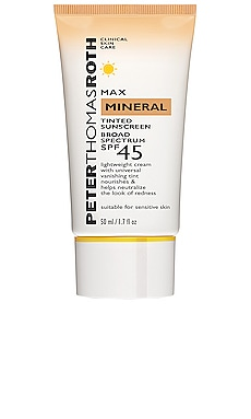 Max Mineral Naked Broad Spectrum SPF 45 UVA/UVB Protective Lotion Peter Thomas Roth $34