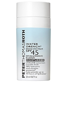 Travel Water Drench Broad Spectrum SPF 45 Hyaluronic Cloud Moisturizer Peter Thomas Roth $22