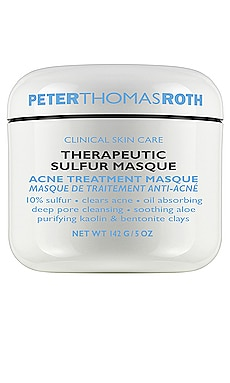 MASCARILLA DE AZUFRE THERAPEUTIC Peter Thomas Roth $52 MÁS VENDIDO