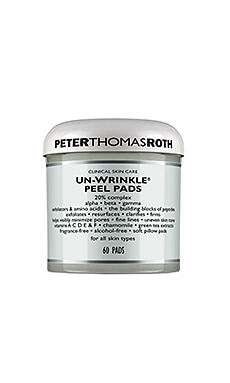 Un-Wrinkle Peel Pads