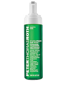 LIMPIADOR CUCUMBER DE-TOX FOAMING CLEANSER Peter Thomas Roth $35