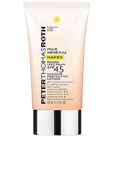 Max Mineral Naked Broad Spectrum SPF 45 Peter Thomas Roth $38