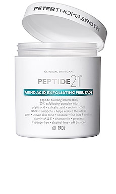 Peptide 21 Amino Acid Exfoliating Peel Pads Peter Thomas Roth $52