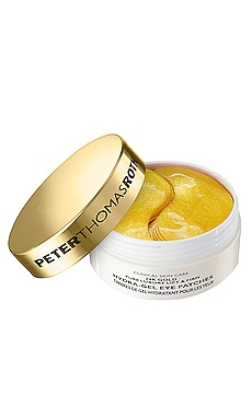 PARCHES DE GEL HIDRATANTE REAFIRMANTES PARA OJOS 24K GOLD PURE LUXURY Peter Thomas Roth $75 MÁS VENDIDO